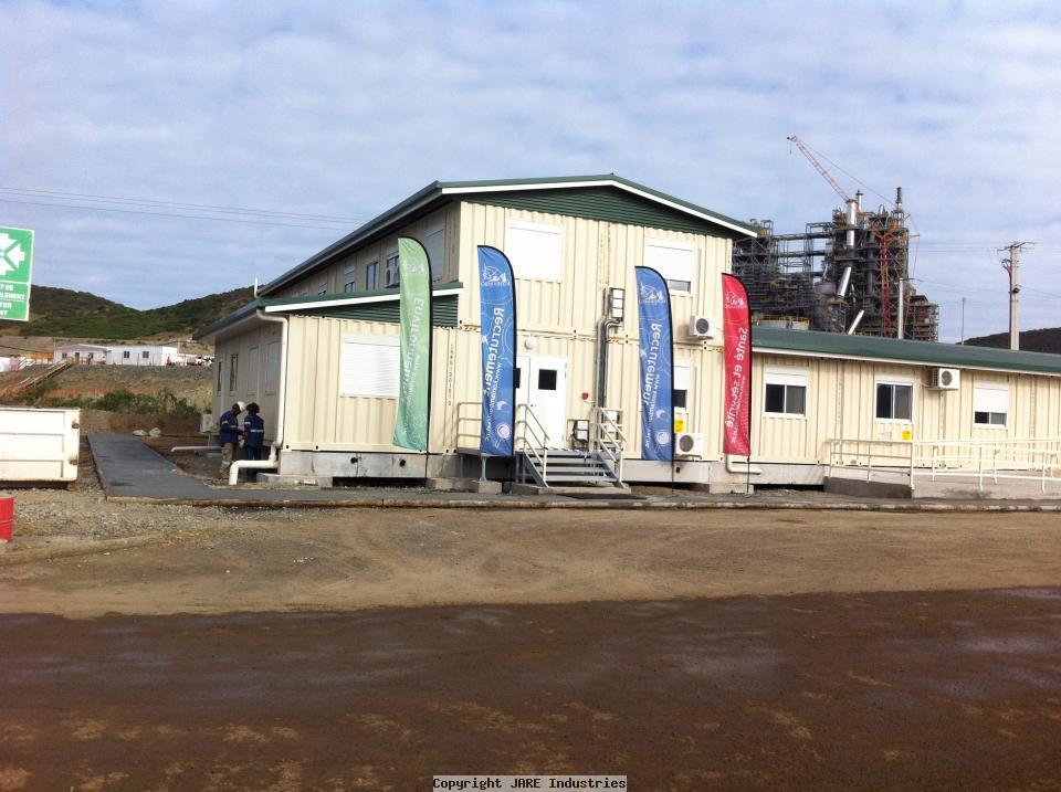 KNS plant site Office - Vavouto