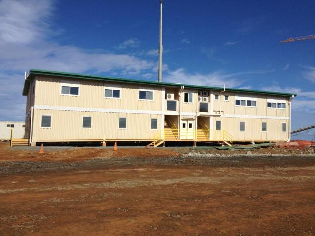 KNS building on mine site - 900m2 - Vavouto : Photo